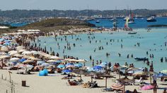 http://formenterablog.blogspot.co.uk/ - more photos Formentera small spanish island 19 km long , 6 km from Ibiza . Beautiful beaches with clear blue water ma...