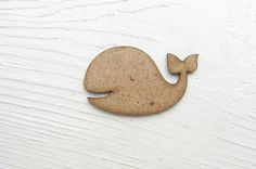 Whale wooden shapes big fish shape MDF shpe by TheWoodenWorld