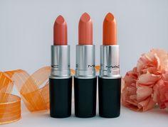 mac lipsticks orange