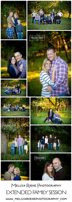 Melissa Rieke Photography | Extended Family Portrait Session | Kansas City Family Photographer | www.melissariekephotography.com | #kansascity #family #portriats