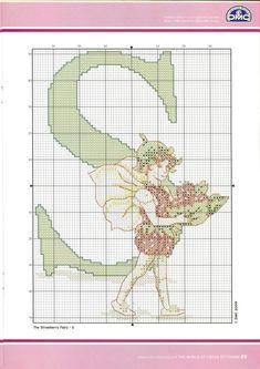 Gallery.ru / Фото #21 - DMC Flower Fairies A-Z Chart Book - irislena