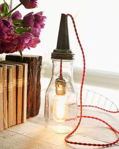 Lamp in a Jar by Sweet Paul
