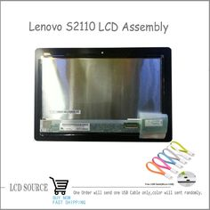 """(104.50$)  Watch now - http://ai6wq.worlditems.win/all/product.php?id=32662607656 - """"10.1"""""""" For Lenovo Ideatab S2110 LCD Display Touch Digitizer Assembly Laptop S2110A-H S2110A LP101WX2 SLA1 Replacement With LOGO"""""""