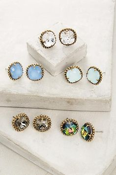 Nolia Studs - anthropologie.com