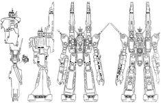 Robotech - Mecha Parts - Taringa!
