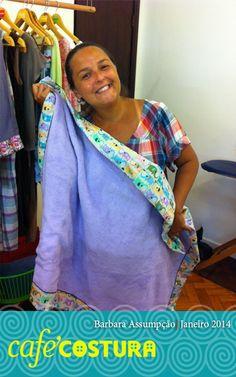 Barbara já esta quase abrindo uma fábrica de mantas, mais um presentinho!