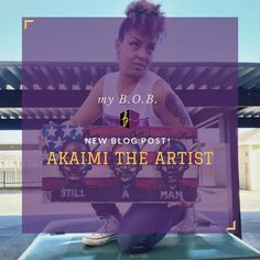 We're so excited to share our latest my B.O.B. blog post with you! You can now learn more about @akaimi.the.artist by checking out our more in-depth look at her business and her story. Check out the blog - http://ift.tt/2oDdZjD