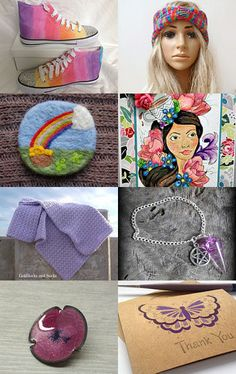 Wishing for Rainbows by Marcia on Etsy--Pinned with TreasuryPin.com #promotingwomen