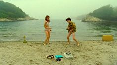 Françoise Hardy playing on the best movie scene <3 #moonrisekingdom