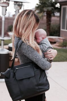 Lily Jade diaper bags (yes! that IS a diaper bag!) are with you for the long haul. They provide order with their 16+ pockets and the ability to have your hands free (it converts to a backpack!)... AND it looks amazing & classic. You will be using your Lily Jade before baby is here...and long after they are out of diapers!