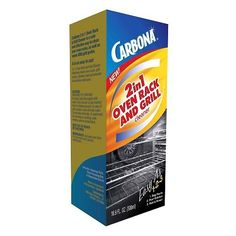 Carbona 2 in 1 Oven Rack and Grill Cleaner: Put your grimy oven racks or grill grates directly into the plastic bag, pour in the cleaner and let it sit overnight. This so works! Oven Rack Cleaner, Oven Racks, Grill Cleaner, Grill Oven, Clean Grill, Grill Grates, Bbq Grill, Barbecue, Cleaning Solutions