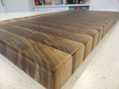 Black Walnut live edge cutting board