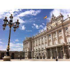 Impressive palace, Madrid