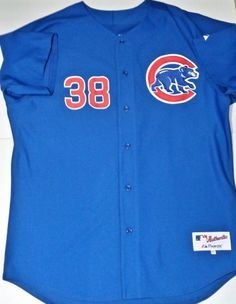 CHICAGO CUBS Carlos Zambrano AUTHENTIC Stitched Jersey Majestic Size 52 #Majestic #ChicagoCubs #CarlosZambrano