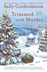 November 2015 Mystery Book New Releases    Trimmed with Murder by Sally Goldenbaum