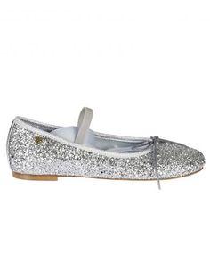 CHIARA FERRAGNI Chiara Ferragni Glitter Strap Ballerinas. #chiaraferragni #shoes #https: