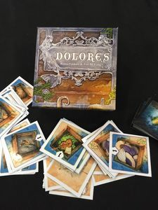 """""""Dolores"""" by Eric Lang & Bruno Faidutti (card game, trust, greed, competition, emotion design)"""