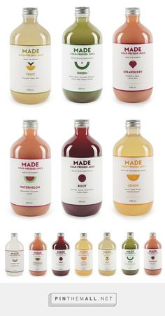 Made Juice — The Dieline - Branding & Packaging - created via http://pinthemall.net