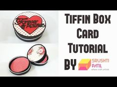 Tiffin Box Card Tutorial by Srushti Patil | Valentine Special - YouTube