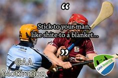 For more check out GAABanter. Funny Sports Memes, Sports Humor, Irish Memes, Funny Man, Football Quotes, Irish Culture, Sport Quotes, Isle Of Man, Your Man