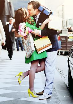 Chuck: ''I love you too.'' Blair: ''Like, can you say it twice? No I'm serious, say it twice.' GOSSIP GIRL