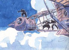 "Laputa: Castle in the Sky 天空の城ラピュタ"" by 宮崎 駿 Hayao Miyazaki"