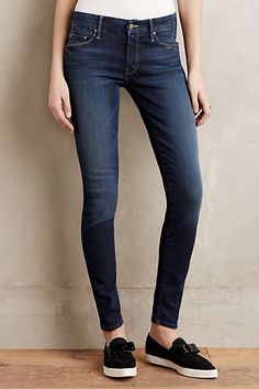 Mother Looker Skinny Jeans #anthropologie
