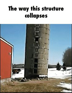 The way this structure collapses GIF