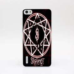 4121-OIE Design Slipknot Rock Hard Case Transparent Cover for Huawei P6 P7 P8 Lite P9 Lite Plus & Honor 6 7 4C 4X G7