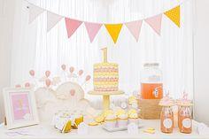 1. Geburtstag | Silvia Hihntermayer | candid moments fotografie  #ersterGeburtstag #Kindergeburtstag #birthday #firstbirthday #zuckerlrosa #zitronengelb #Wolke7 #Wölkchen #Wolken #yellow #rose #blush Happy Birthday, Birthday Cake, Tapestry, Inspiration, Pink, Paper Mill, Lemon Yellow, New Babies, 1 Year Birthday