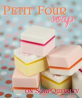Making Scentz (aka Homemade Bath Products): How to Make Petit Four Soap Video