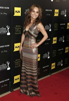 Giada De Laurentiis arrives at The 39th Annual Daytime Emmy Awards at The Beverly Hilton Hotel in Beverly Hills, Calif. on June 23, 2012.