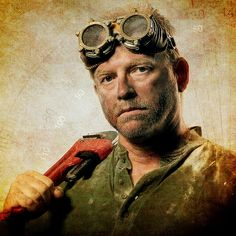 "Ajex? - ""DieselPunk Mechanic"" by Perry Gerenday Photography, via Flickr."