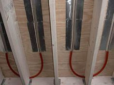 The Floor Joist Installation Radient Floor Heating, Hydronic Radiant Floor Heating, Radiant Heating System, In Floor Heating, Heated Floor, Grey Vinyl Flooring, Basement Flooring, Diy Flooring, Flooring Ideas
