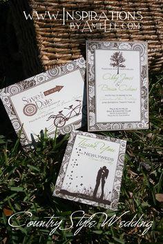 Country Style Wedding Set