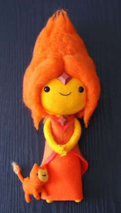 Flame Princess by Lorena Rodriguez on Behance
