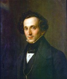 Félix Mendelssohn, compositor de música.