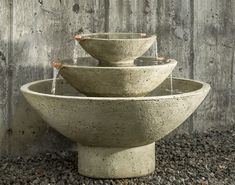 Carrera Fountain by Campania International | Water Fountains