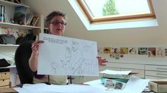 How to illustrate a book - Part 2 by Open College of the Arts. Lynne Chapman continues her description of the process of illustrating the Bears on the Stairs book and concludes with a few comments on royalties and advances.