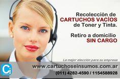 http://www.cartuchoseinsumos.com.ar - Te: (011) 4282-4590 / 1154588928 - Atención a toda la Republica Argentina