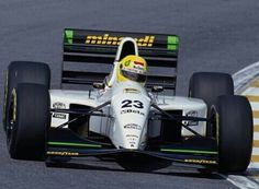 Minardi F1 Team No.23 Christian FITTIPALDI MINARDI M193 Ford Cosworth HB NA3.5L V8 Goodyear