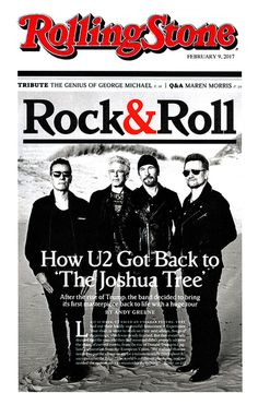 U2 > News > 'Wait and See' - The band are in the new edition of Rolling Stone (How U2 Got Back To The Joshua Tree) with Edge, Adam and Show Designer Willie Williams all giving interviews. Here are some highlights with links to each interview.