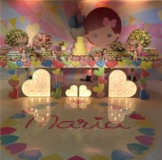 "101 fiestas: Una fiesta love con corazones ""San Valentín"" Sofia The First Birthday Party, Little Girl Birthday, Frozen Birthday Party, Baby Party, 2nd Birthday, Girl Birthday Decorations, Ideas Para Fiestas, Circus Party, Holidays And Events"