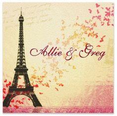 Dio Selina Inviting Delights: Paris Theme Invitations