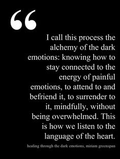 Tuning in to all of us - the light the dark, the easy, the scary ... we need to embrace all of who we are and be comfortable with our own unique expression!