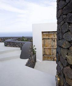 Aenaon Villas by Giorgos Zacharopoulos in Greek island