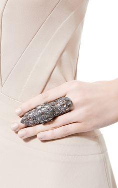 Slave Bondage Ring by Loree Rodkin for Preorder on Moda Operandi