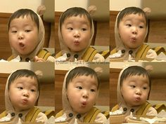 Big brother Song deahan Triplet Babies, Korean Tv Shows, Song Triplets, Superman Baby, Dream Baby, Cute Faces, Little Star, Baby Pictures, Cute Kids