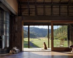 I need that GIANT SLIDING DOOR!! Eclectic Modern Barn Design, Pictures, Remodel, Decor and Ideas - page 5