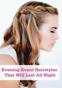 You can do these event hairstyles at home—and they'll last all night!